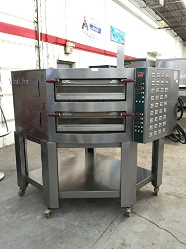 Cuppone EV935/2 - Evolution Electric Double Deck Pizza Oven