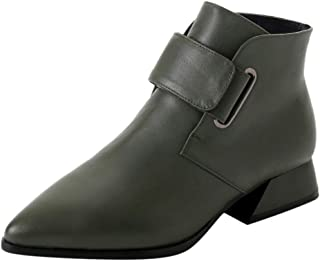 Kaiki Hiver Boots,Chaussures à Talons pour Femmes Bottes à Talons Hauts Bottes Courtes Sauvages Bottines,Taille 35-43 Chaussures à Talons pour Femmes Bottes à Talons Hauts Bottes Courtes Sauvages Bottines K181201AA2204