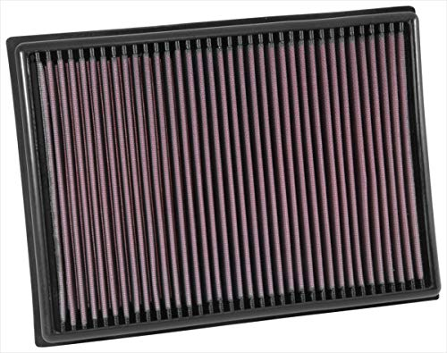 K&N engine air filter, washable and reusable: