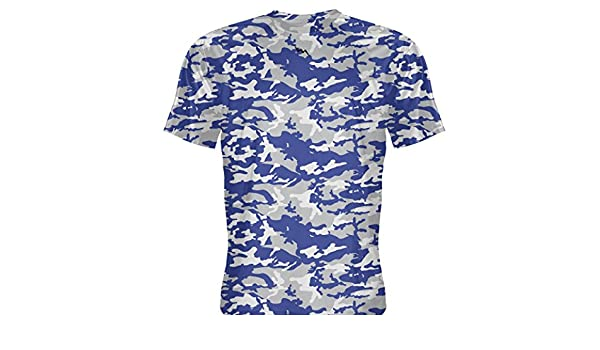d65152c2a31 Amazon.com: LightningWear Youth Navy Blue Silver Basketball Shooter Shirts  Youth, Silver: Clothing