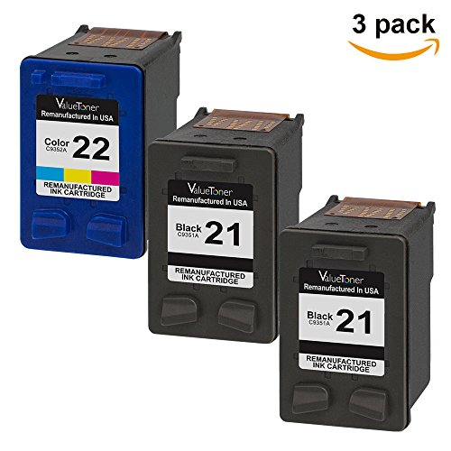 hp 21 22 ink cartridge combo pack - 5