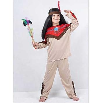 Disfraz niño Indio - talla 11 - 14 años: Amazon.es: Juguetes y juegos