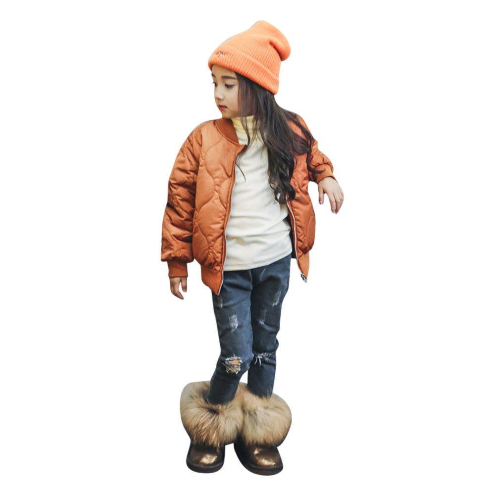 Robemon Toddler Kids Bébé Garçons Filles Vêtements Manteau en Coton Chaud Vestes Cardigan Outwear