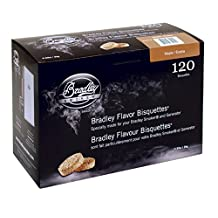 Bradley Smoker BTMP120 Maple Bisquettes 120 pack, Tan