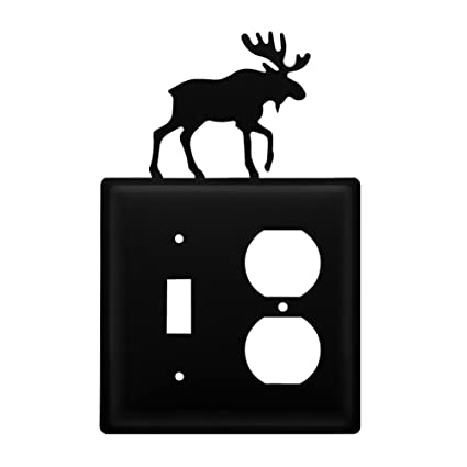 Amazon.com: Hierro Forjado Moose Switch, Outlet Cover: Toys ...
