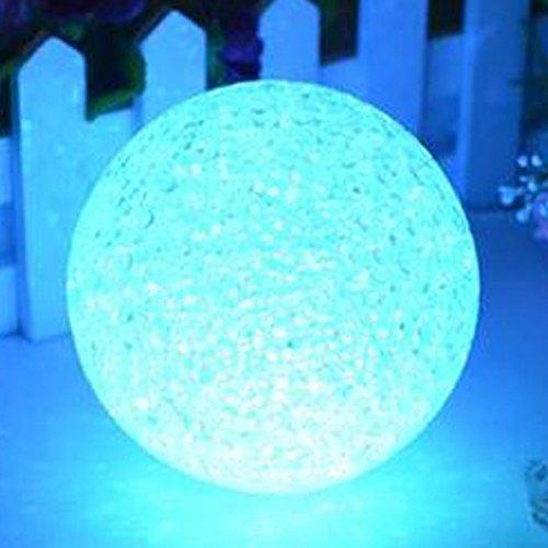 YATRONIX-LED Crystall Ball Kugel- 10 cm Durchmesser - super schöne Deko & Geschenk & Nachttischlampe/ Stimmungslampe