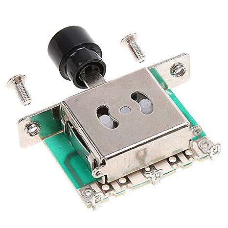ammoon 3 Way Interruptores Selector de Pastillas para Guitarra Eléctrica: Amazon.es: Instrumentos musicales