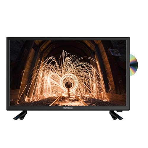 Westinghouse 24 inch HD LED TV DVD Combi with Freeview – Black (2019 Model)
