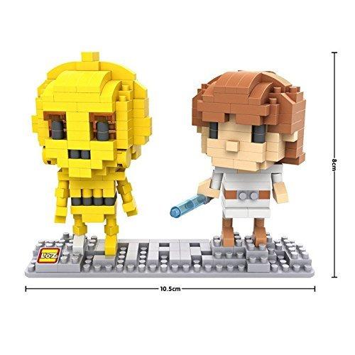 LOZ Star Wars Diamond Nano-Block (mini blocks) Luke and 3CPO with BOX