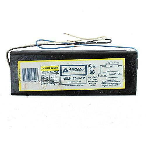 Image of Ballasts Advanced Ballasts RSM175STP RSM175STPI (1 Lamp F96T12 Instant Start 0.95 Ballast Factor 120V