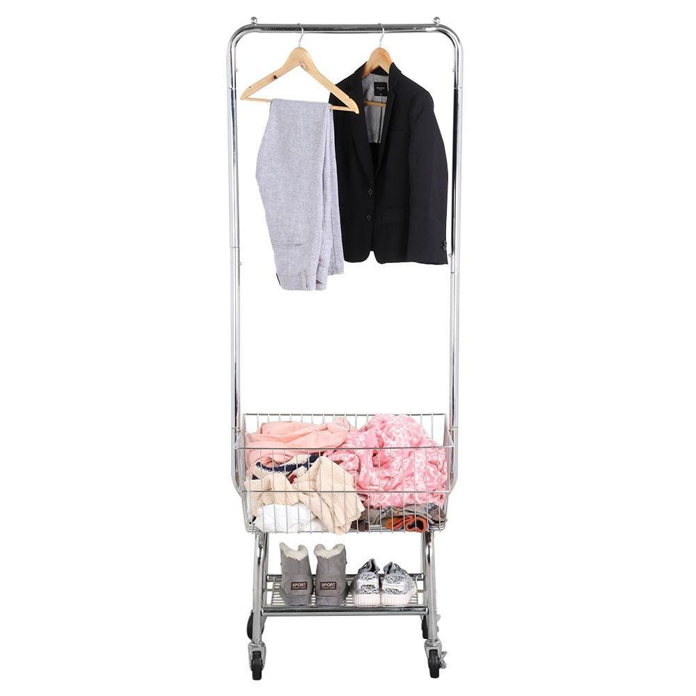 go2buy Standard Commerical Laundry Bulter, Silver