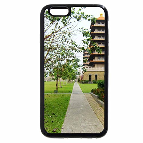 iPhone 6S / iPhone 6 Case (Black) Pagoda and footpath