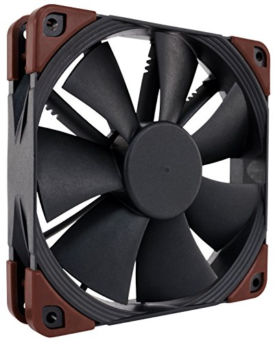 Noctua NF-F12 iPPC 3000 PWM, 4-Pin, Heavy Duty Cooling Fan with 3000RPM (120mm, Black) (12v Stator And Hub)