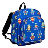 Wildkin 12 Inch Backpack, Robots