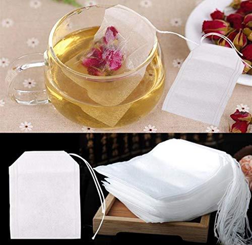 Teabag Filter Paper - 10000 Pcs Non Woven Fabrics Empty Teabags Tea Bags String Heal Seal Filter Paper Teabag 5 X 7cm - China For Mesh Box Teapot Red Strainer Set Tea Guan