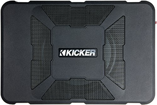 Kicker 11HS8 Hideaway Compact 8'' Powered HS8 Sub Box (Certified Refurbished) by Kicker (Image #1)