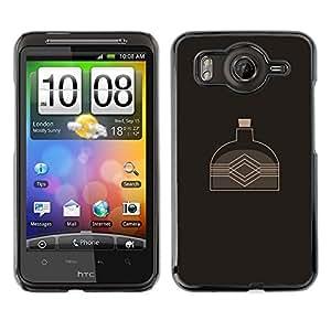 LECELL--Funda protectora / Cubierta / Piel For HTC G10 -- La caldera del agua --