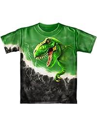 Rex Green Tie-Dye Youth Tee Shirt