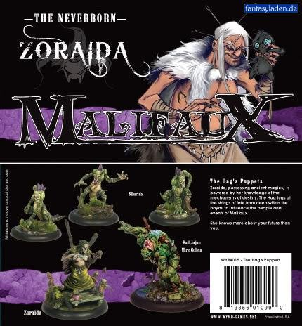 Wyrd Miniatures - Malifaux Miniatures The Hag's Puppets (Zoraida) The Neverborn by Wyrd Miniatures