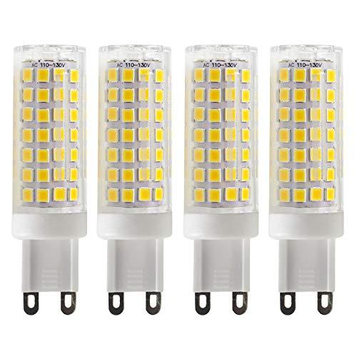 G9 LED Bulb for Home Lighting- Mechok,40W Replacement Halogen Bulb, 5W Dimmable AC 120V Light Bulbs,Warm White 3000K, 450 Lumens ()