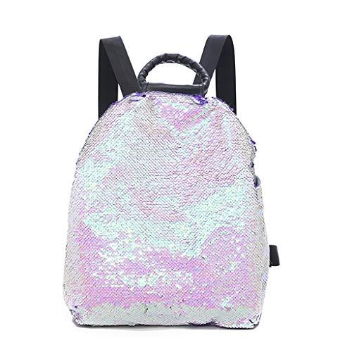 scuola con da paillettes a a per borse borsa tracolla studenti per donna per da Zaino borsa tracolla x6FwEx