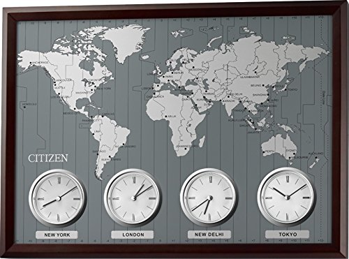 citizen wall mounted world time n 4mwa01 006 buy online in uae kitchen products in the uae see prices reviews and free delivery in dubai abu dhabi