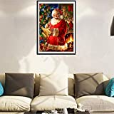 VonVonCo Christmas Christmas Diamond Rhinestone Pasted Embroidery Painting Cross Stitch Home Decor (3040cm, Multicolor)