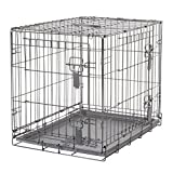 Dogit 90562 KD Dog Crate, 2-Doors, Small