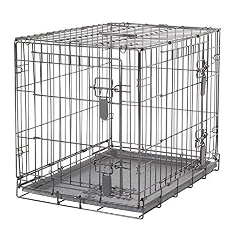 Amazon Com Dogit 2 Door Wire Home Crate With Divider Small Pet