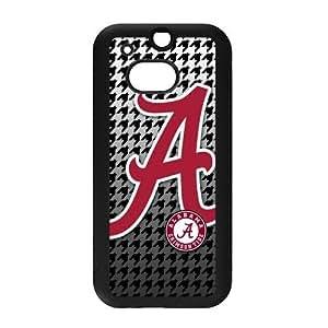 Generic Custom Extraordinary Best Design NCAA Alabama Crimson Tide Team Logo PC and TPU Case Cover for HTC One M8