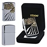 zippo case display - Zippo A TIGER CLAW BK Lighters GENUINE and ORIGINAL Packing