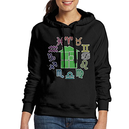 Price comparison product image Ano Women's Hoodie Homestuck Symbol Size L Black