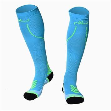 Calcetines de compresión de los hombres paquete de 1 par de medias deportivas para correr edema