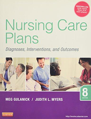 Nursing Care Plans: Diagnoses, Interventions, and Outcomes, 8e [Meg Gulanick PhD  APRN  FAAN - Judith L. Myers RN  MSN] (Tapa Blanda)
