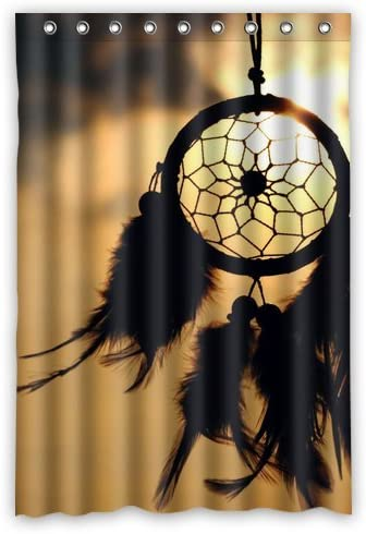 Window curtain Custom Dream Catcher Waterproof Home Decoration Curtains Standard Size 52 x 72 One Piece