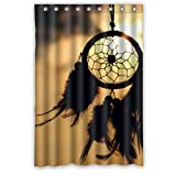Cheap Custom Dream Catcher Waterproof Window Curtain Home Decoration Curtains Standard Size 52″ x 72″(One Piece)