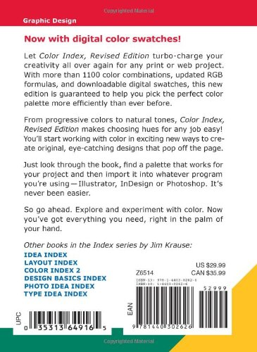 Buy Color Index - Revised Edition Book Online at Low Prices in India ...