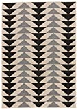 Jaipur Living Mckenzie Indoor/Outdoor Tribal White Area Rug (5'3″ X 7'6″) For Sale