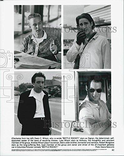 "1996 Request Photo Owen Wilson, Luke Wilson, Robert Musgrave ""Bottle Rocket"""