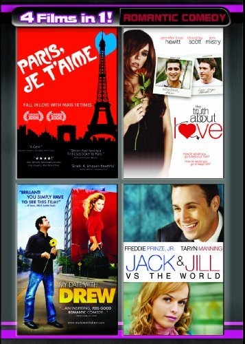 Four Movies in One: Romantic Comedy  (Paris Je T'Aime / The Truth About Love / My Date with Drew / Jack and Jill vs. The - Sunglasses Jill