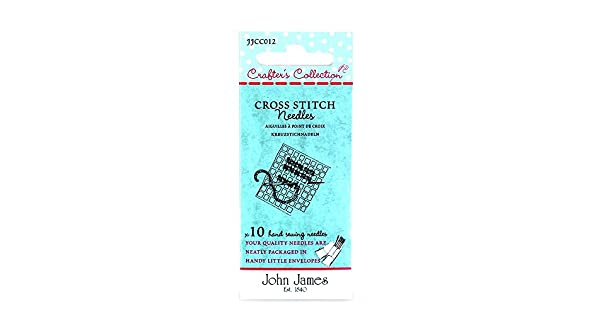 John James Crafters Colección Mano Crewel Agujas x 10 tamaño 18 20 y 22