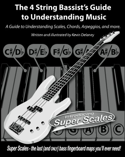 The 4 String Bassist's Guide to Understanding Music: A Guide to Understanding Scales, Chords, Arpeggios, and more.