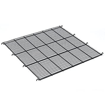Pro Select Replacement Floor Grates for Modular Cages – Black Epoxy-Coated Floor Grates for ProSelect Modular Cages, 24 x 22 x