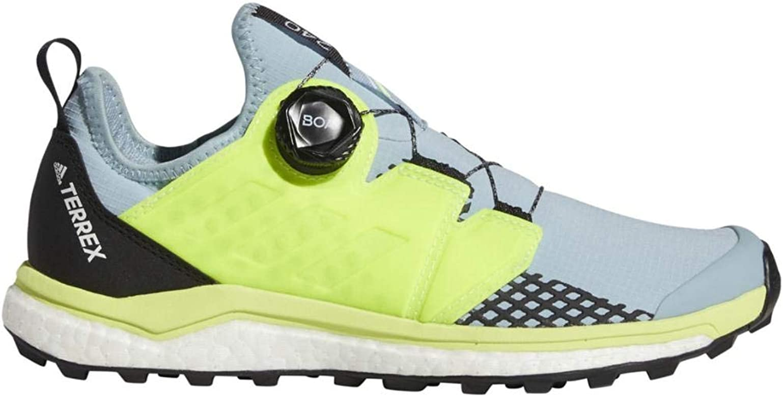 Amazon.com | adidas Women's Terrex Agravic Boa, Grey/Yellow ...