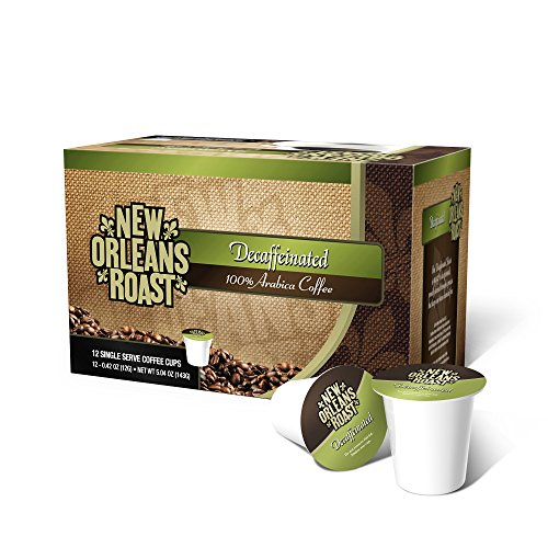 Orleans Tea (New Orleans Roast - Decaffeinated Single Cups, 12 Count (PACK OF 3 BOXES))