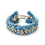 Aurelie Bidermann Do Brasil Double Bracelet in Ocean
