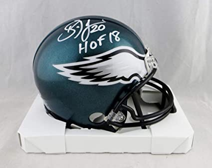 ea928f18727 Image Unavailable. Image not available for. Color: Brian Dawkins  Autographed Philadelphia Eagles Mini Helmet ...