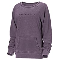 Ouray Sportswear Women's Park City Resort Crush Ls Redux Sweater, Blackberry Crush, Small