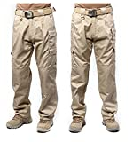 Toping Fine New Mens Casual Pants Military Army Cargo Camo Combat Work Pants Trousers Army Green Khaki34