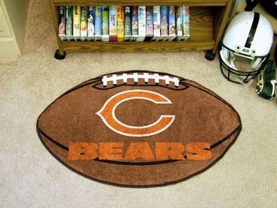 - NFL - Chicago Bears Football Rug
